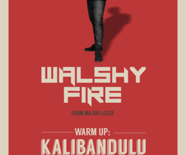 WALSHY FIRE DEI MAJOR LAZER AL DUM DUM REPUBLIC A PAESTUM!