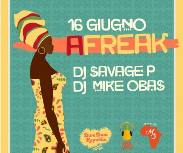 AFREAK CON DJ SAVAGE & DJ MIKE OBAS LIVE AT DUM DUM REPUBLIC