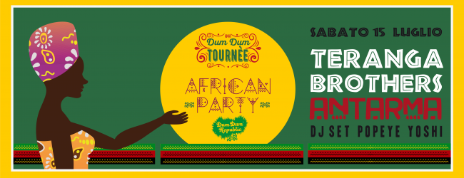 African Party - Teranga Brothers & Antarma + Peppe Yoshi