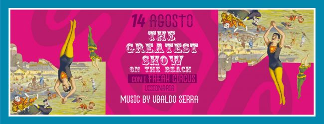 The greatest show on the beach | Cena al circo @ Dum Dum Republic